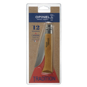 Opinel No. 12 Carbon Folding Knife