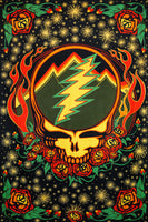 Grateful Dead - Scarlet Fire 3D Tapestry Wall Hanging - Tapestries