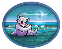 Grateful Dead - Waterside Bear Sticker