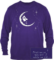 Jerry Garcia - Jerry Moon Long Sleeve T-Shirt