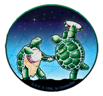 Grateful Dead - Mini Dancing Terrapins Sticker