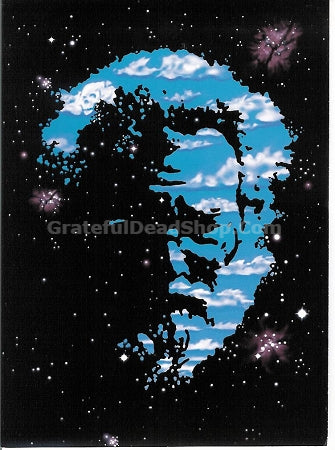 Jerry Garcia - Cosmic Jerry Greeting Card - Housewares