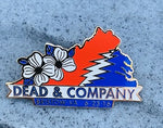 Dead & Company Official 2016 Bristow, VA Collectible Hat Pin