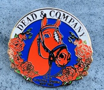Dead & Company Official 2016 Saratoga Springs Collectible Pin