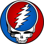 Grateful Dead - Giant Steal Your Face Logo Sticker