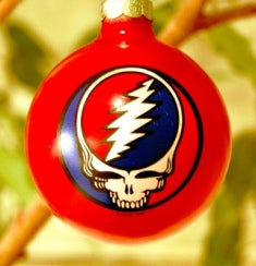Grateful Dead - SYF Red Holiday Ornament