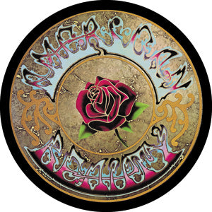 Grateful Dead American Beauty Round Magnet