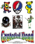 Grateful Dead - Icon Sticker Sheet Set