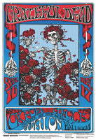 Grateful Dead - Skeleton and Roses Avalon Ballroom Poster