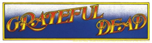 Grateful Dead - Logo Bumper Sticker - Sticker