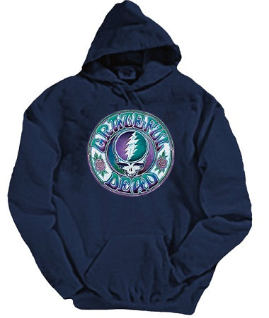 Grateful Dead - Batik (SYF) Steal Your Face Hoodie