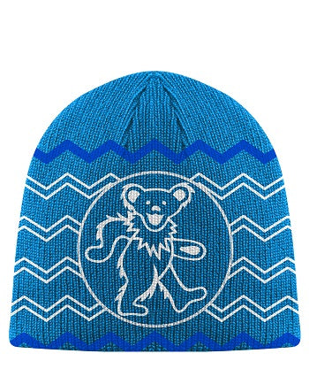Grateful Dead - Dancing Bear Knit Beanie Hat