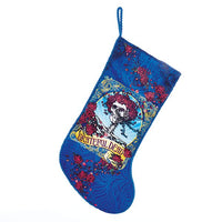 "Grateful Dead - 19"" Skull and Roses Christmas Stocking"