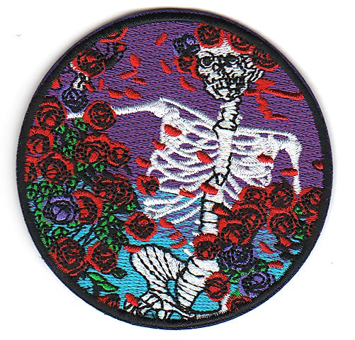 Grateful Dead - Bertha Embroidered Patch
