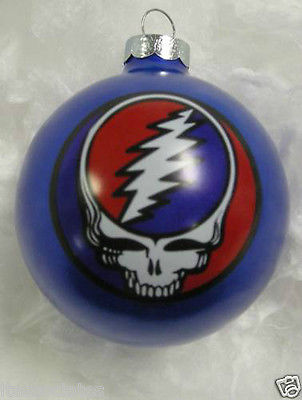 Grateful Dead - SYF Blue Christmas Holiday Ornament