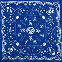 Grateful Dead - Dancing Bears Bandana - Blue - Misc.