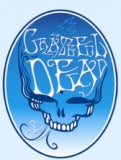 Grateful Dead - Blue Smoke Sticker - Sticker