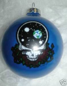 Grateful Dead - Space Your Face Blue Holiday Ornament