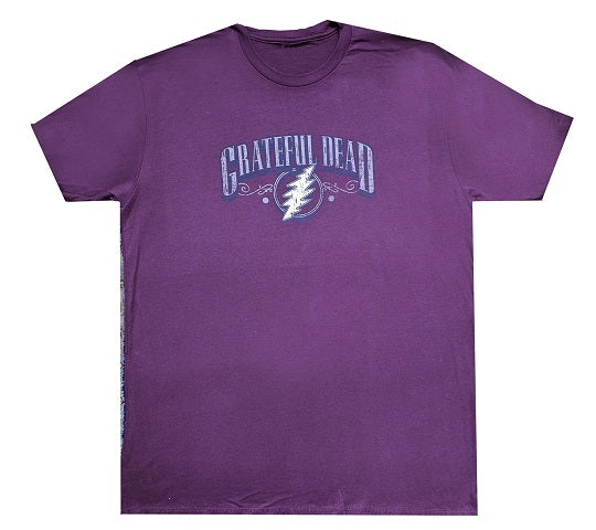 Grateful Dead - Burgundy Bolt T-Shirt