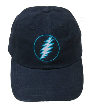 Grateful Dead - Turquoise Lightning Bolt Hat