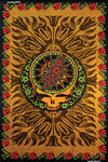 Grateful Dead - Mini Brown Rose SYF Tapestry