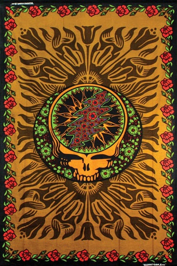 Grateful Dead - Brown Rose SYF Tapestry