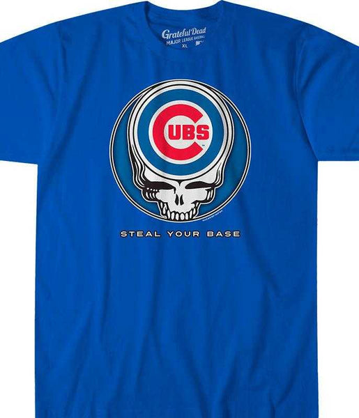 Grateful Dead Chicago Cubs Steal Your Face T-Shirt