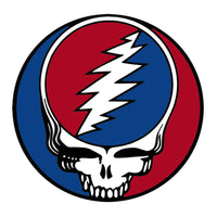 Grateful Dead - Classic Steal Your Face Sticker - Small 1 1/2 - Stickers