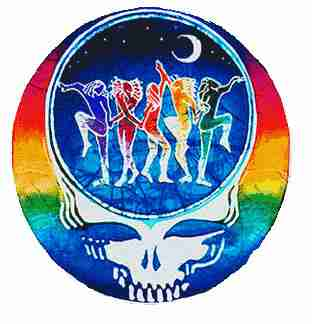 Grateful Dead - Dance Your Face Off Sticker - Sticker