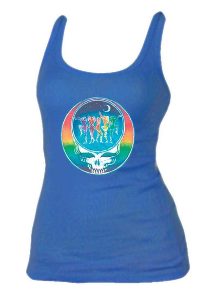 Grateful Dead Dance You Face Ladies Tank Top