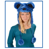 Grateful Dead - Dancing Bear Furry Flap Hat