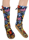 Grateful Dead - Dancing Bear Mukluks Slippers