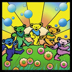 Grateful Dead - Dancing Bear Utopia Sticker