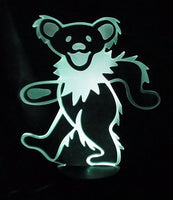 Grateful Dead - Dancing Bear Led Light - Housewares