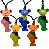 Grateful Dead - Dancing Bears Holiday Party Lights - Housewares
