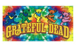 Grateful Dead - Dancing Bears Tie Dye Sticker
