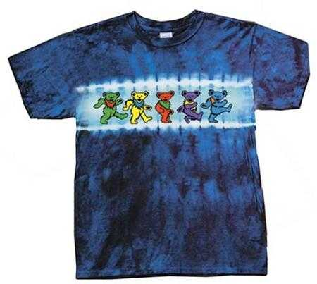 Grateful Dead Kids Dancing Bear Tie Dye T-Shirt