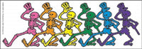 Grateful Dead - Dancing Skeletons Clear Sticker