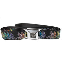 Grateful Dead - Kids Youth Dancing Skeletons Seatbelt Buckle Belt