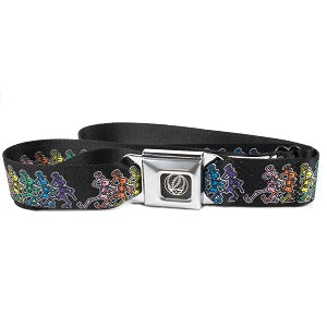 Grateful Dead - Dancing Skeletons Seatbelt Buckle Belt