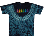 Grateful Dead Dancing Skeletons Tie Dye T-Shirt