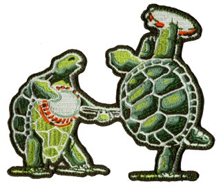 Grateful Dead - Dancing Terrapins Patch - Misc.