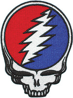 Grateful Dead - Die Cut Steal Your Face Patch - Patches