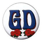 Grateful Dead - GD Roses Button