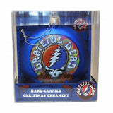 Grateful Dead - SYF 100 mm Glass Disc Holiday Ornament