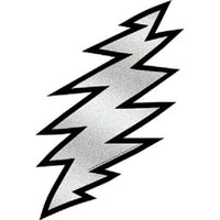 Grateful Dead - Glitter Lightning Bolt Sticker - Sticker