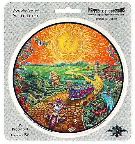 Grateful Dead - Golden Road Sticker