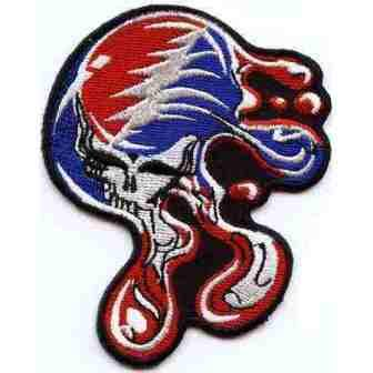 Grateful Dead - Large Melting Syf Patch - Patches