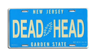 Grateful Dead - New Jersey Deadheads License Plate - Misc.