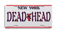 Grateful Dead - New York Deadheads License Plate - Misc.